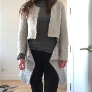 Zipper Knit Coat Size XS/S